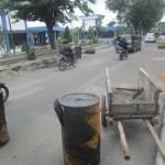 PERBAIKAN JALAN SOLO : Perbaikan Jl. Ahmad Yani Dinilai Muspra