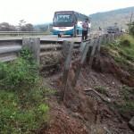 INFRASTRUKTUR AMBARAWA :  Gawat, Jalur Ambarawa-Magelang Terancam Putus