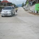 Ruas jalan lingkar Kota Wonogiri yang telah selesai pengerjaan. (Rudi Hartono/JIBI/Solopos)