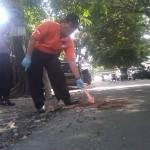 SIMPATISAN PPP DILEMPAR BOM : PPP Bentuk Timsus Bantu Polisi Cari Pelempar Bom