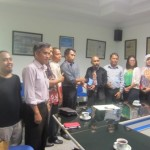 KUNJUNGAN MEDIA : Kunjungi Solopos, Peradi Tegaskan Junjung Kode Etik