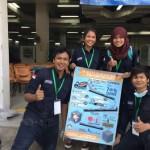 Lomba Beton International Highest Early Strength yang diadakan di Universiti Teknologi Mara (UiTM) Malaysia