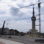 MASJID AGUNG KLATEN : Pelaksana Menara Masjid Layak Masuk Daftar Hitam