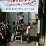 NARKOBA SOLO : Balong Jadi Kampung Antinarkoba