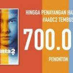 FILM TERBARU : 3 Hari Tayang, AADC2 Raih 700.000 Penonton