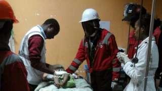 Bayi di Kenya selamat setelah terkubur 3 hari (BBC)