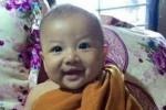 Bayi yang ditemukan terkubur dinyatakan sehat (Mirror.co.uk)
