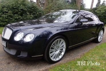 Bentley Continental Christiano Ronaldo. (Autoevolution.com)