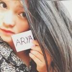 Foto selfie Aura Warna Sari. (Facebook/Aura Warna Sari)