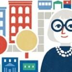 Google Doodle memperingati hari lahir Jane Jacobs (Google.com)