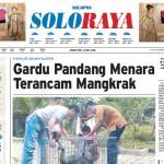 Halaman Soloraya Harian Umum Solopos edisi Jumat, 13 Mei 2016