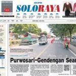 Halaman Soloraya Harian Umum Solopos edisi Sabtu, 14 Mei 2016