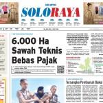 Halaman Soloraya Harian Umum Solopos edisi Selasa, 3 Mei 2016