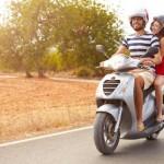Ilustrasi liburan mengendarai motor. (Clearcounsel.com)