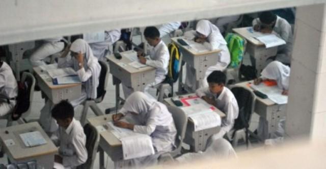Ilustrasi pelaksanaan Ujian Nasional (UN) sekolah dasar dan sekolah sederajat. (JIBI/Solopos/Antara/Arif Firmansyah)
