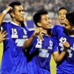 Ilustrasi selebrasi pemain PSIS Semarang. (JIBI/Solopos/Antara/R. Rekotomo)