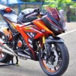 Modifikasi Honda New CBR150R. (Liputan6.com)