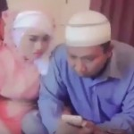 Heboh pernikahan via ponsel. (Istimewa)