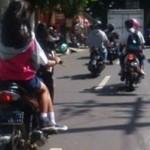 HARI PENDIDIKAN NASIONAL : Pulang Upacara Hardiknas, Pelajar Ambarawa Jadi Sorotan Netizen