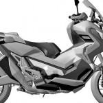 Paten desain final Honda City Adventure 750. (Bikewale.com)