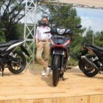 Peluncuran Honda Supra GTR150 di Bogor. (Twitter.com @Welovehonda)