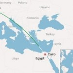 Posisi Egyptair hilang (CNN.com)