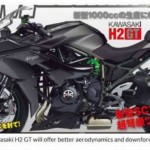 Prediksi desain Kawasaki Ninja H2 GT. (Indianautosblog.com)
