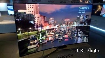 SUHD TV Samsung 2016 (Liputan6.com)