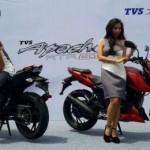 TVS Apache RTR 200. (Okezone.com)