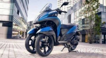 Yamaha Tricity 155. (Motorcycle.com)