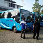 Bus baru Trans Jogja berwarna biru siap mengaspal, Rabu (25/5/2016). (Gilang Jiwana/JIBI/Harian Jogja)