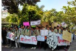 Demo mahasiswa UGM, Senin (2/5/2016). (Uli Febriarni/JIBI/Harian Jogja)