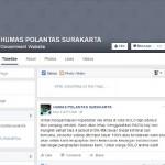CYBER CRIME : Akun Facebook Humas Polantas Surakarta Bukan Milik Polisi! Pelakunya Dicari