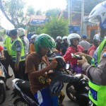 RAZIA PONOROGO : 3.072 Kendaraan Ditilang Selama Operasi Patuh