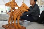 Salah satu kerajinan dalam lomba cinderamata khas Kulonprogo. (Sekar Langit Nariswari/JIBI/Harian Jogja)