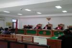 Suasana sidang korup[si KONI Jogja (Ujang Hasanudin/JIBI/Harian Jogja)