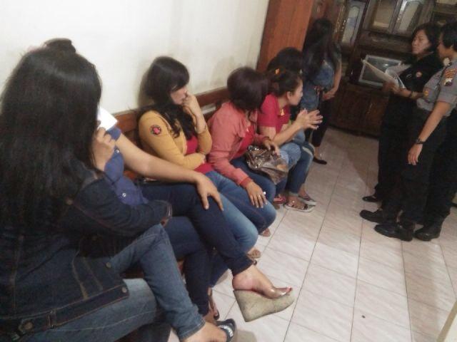 Puluhan Pekerja Salon Esek Banjarsari Terjaring Operasi
