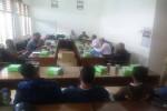 Sejumlah santri saat mengadu ke komisi D DPRD Bantul atas dugaan kasus penganiayaan yang dilakukan salah satu ustadz di Pondok Pesantren Asy-Syifa Bambanglipuro, Selasa (24/5/2016). ( Yudho Priambodo/JIBI/Harian Jogja)