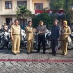 BANTUAN PEMERINTAH : Pemkab Magetan Hibahkan 20 Motor Trail untuk Kepolisian