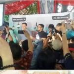 Ahok saat menghadiri perayaan 1 juta KTP di Kantor Teman Ahok, Pejaten, Jakarta, Minggu (19/6/2016). (Istimewa/@temanahok)
