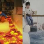 VIDEO LUCU YOUTUBE:Lucunya Bocah Ini Lompati Lava Hingga Dikejar Hiu