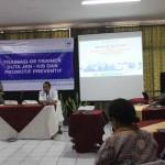 Kegiatan Training of Trainer Duta Jaminan Kesehatan Nasional (JKN)-Kartu Indonesia Sehat (KIS) Promotif Preventif di Rumah Sakit Bethesda, Rabu (22/6/2016). (Bernadheta Dian Saraswati/JIBI/Harian Jogja)
