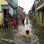 BANJIR SOLO : 13 Kelurahan Terendam Banjir