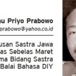 Dhanu Priyo Prabowo (Istimewa)