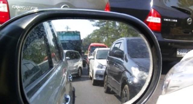 Ilustrasi kemacetan arus lalu lintas (JIBI/Semarangpos.com/Dok.)