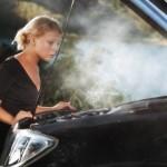 Ilustrasi mobil mengalami oveheat mesin. (4wheelmuscle.com)