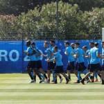 Timnas Italia berlatih jelang melawan Swedia di Piala Eropa 2016. (JIBI/REUTERS/Yves Herman)