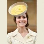 KATE MIDDLETON : Mirip Kue, Topi Kate Middleton Jadi Bahan Meme Konyol
