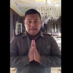 Ajudan pribadi mengucapkan selamat Ramadan. (Istimewa/Youtube)