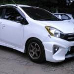 Modifikasi Toyota Agya body kit. (Istimewa/Liputan6.com)